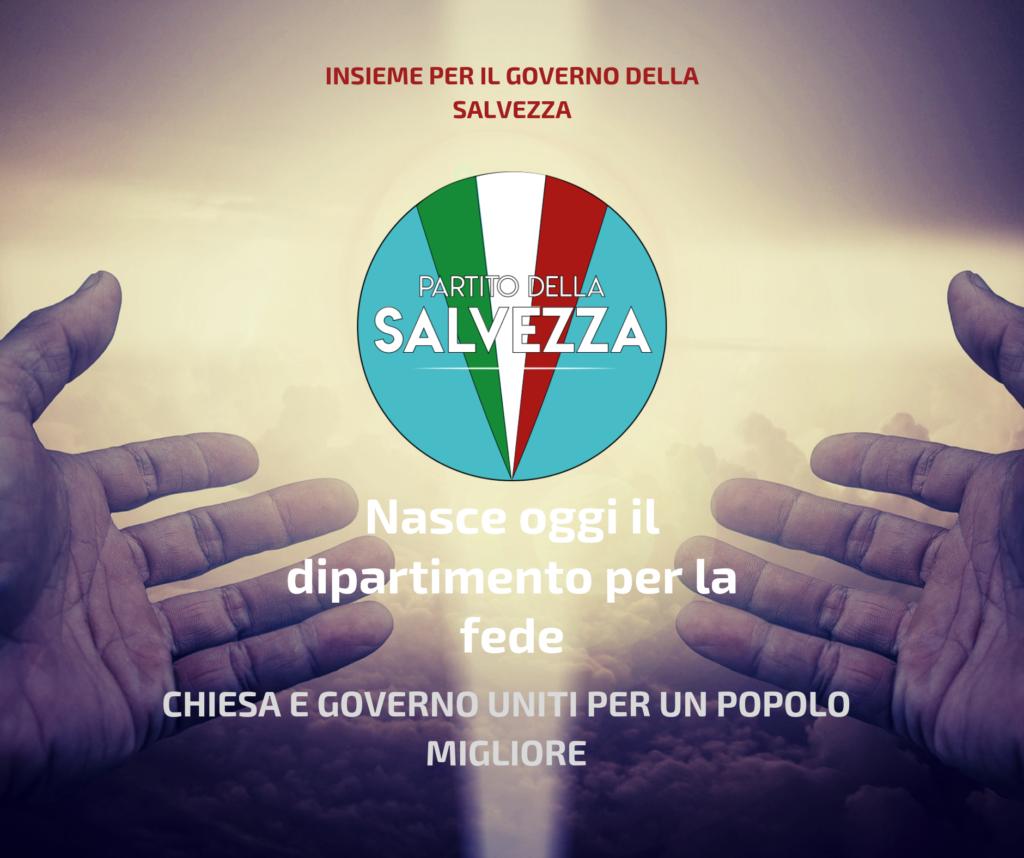 """05/04/2026 - Manifesto """"Nasce il Dipartimento per la Fede"""""""